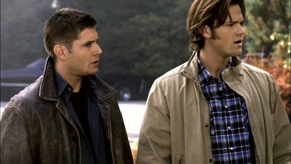 Dean and Sam attached at the hip...